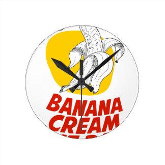 2nd March - Banana Cream Pie Day Wallclocks