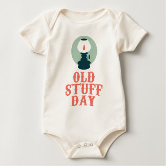 2nd March - Old Stuff Day Baby Bodysuit