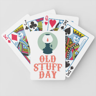 2nd March - Old Stuff Day Bicycle Playing Cards