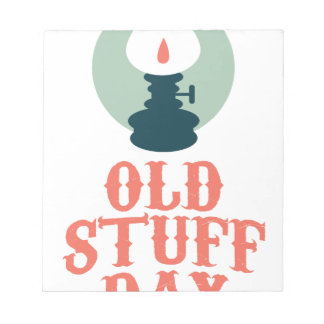 2nd March - Old Stuff Day Notepads