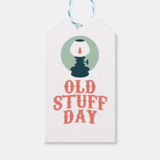 2nd March - Old Stuff Day Pack Of Gift Tags