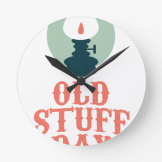 2nd March - Old Stuff Day Round Clock