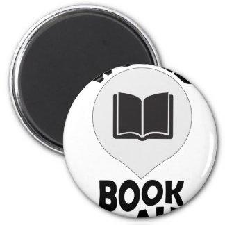 2nd March - World Book Day 2 Inch Round Magnet
