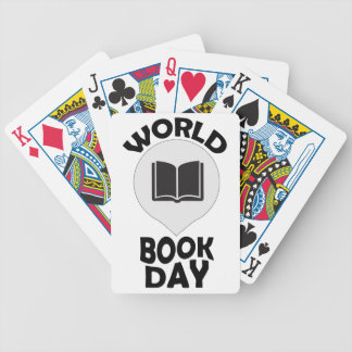 2nd March - World Book Day Bicycle Playing Cards