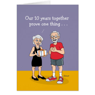2nd Marriage: Anniversary Card