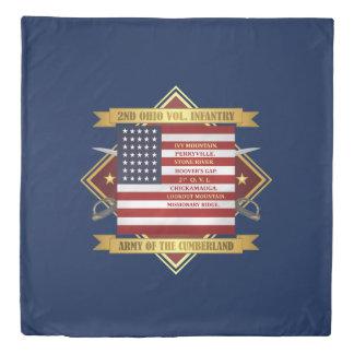 2nd Ohio Volunteer Infantry Duvet Cover
