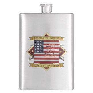 2nd Ohio Volunteer Infantry Hip Flask