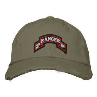 2nd Ranger Bn Embroidered Hat