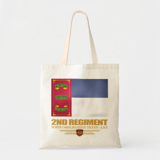 2nd Regiment, North Carolina State Troops Tote Bag
