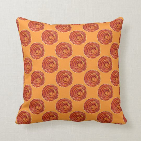 2nd-Sacral Chakra Cleansing Artwork #2 Throw Pillow