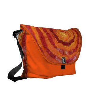 2nd-Sacral Chakra Healing Orange Artwork #2 Messenger Bags