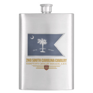 2nd South Carolina Cavalry Hip Flask
