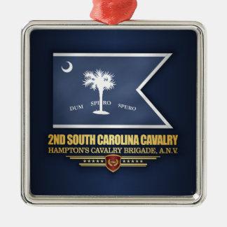 2nd South Carolina Cavalry Metal Ornament