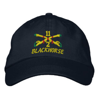 2nd Sqdn 11th Cavalry Embroidered Hat