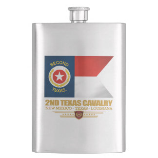 2nd Texas Cavalry Hip Flask
