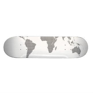 2part workd map (2) skateboard