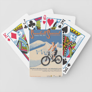2SNOWBALL SPECIAL FB RACE BICYCLE PLAYING CARDS