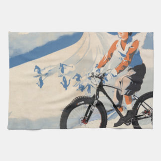 2SNOWBALL SPECIAL FB RACE KITCHEN TOWEL