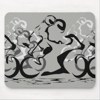 2up riders mouse pad