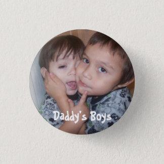 2zele68, Daddy's Boys 1 Inch Round Button
