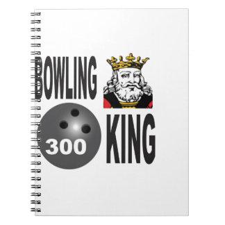 300 bowling king notebooks