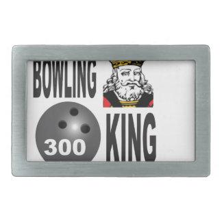 300 bowling king rectangular belt buckles