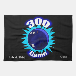 300 Game Blues Kitchen Towel