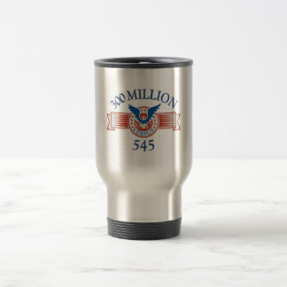 300 Million Versus 545 Travel Mug