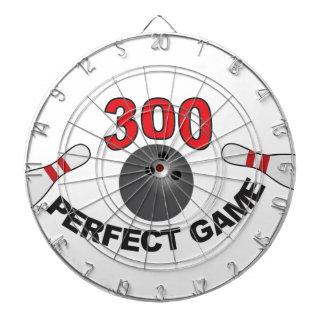 300 perfect game b dartboard