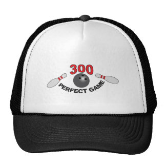 300 perfect game b trucker hat