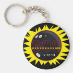 300 Perfect Game Basic Round Button Keychain