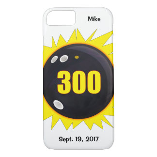 300 Perfect Game, Yellow and Black iPhone 8/7 Case