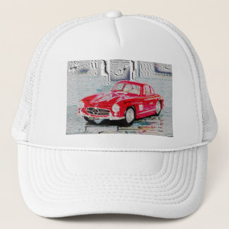 300 SL - Digitally Work Jean Louis Glineur Trucker Hat