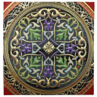 [300] Treasure Trove: Celtic Cross Napkin