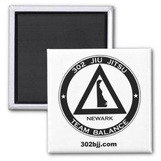 302 Jiu Jitsu Logo Magnet