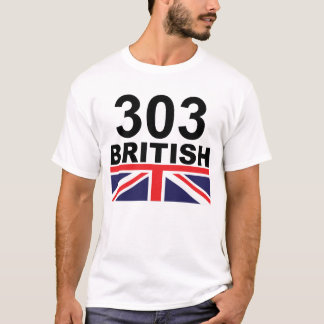 303 British color T-Shirt