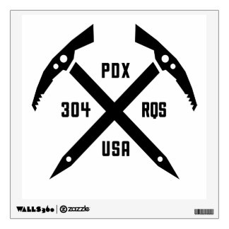 304 RQS PDX USA wall decal