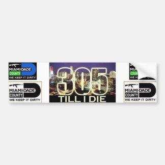 305 bumper sticker