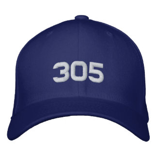 305 EMBROIDERED HAT