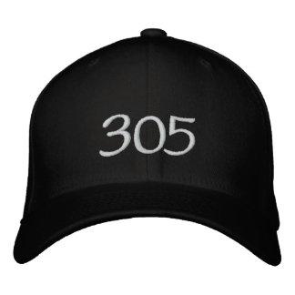 (305) Kriminal Recordz Fitted Caps