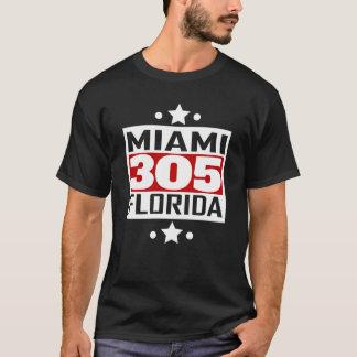 305 Miami FL Area Code T-Shirt