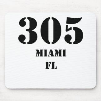 305 Miami FL Mouse Pad