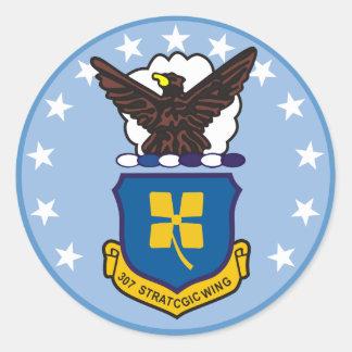 307th Strategic Wing Classic Round Sticker