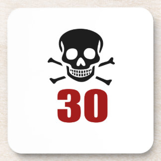 30 Birthday Designs Coaster