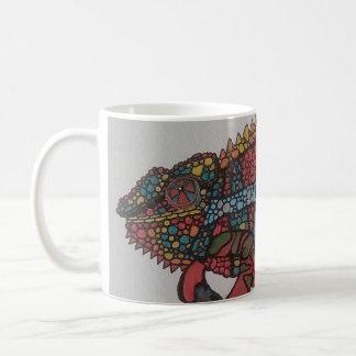 30 chameleons coffee mug