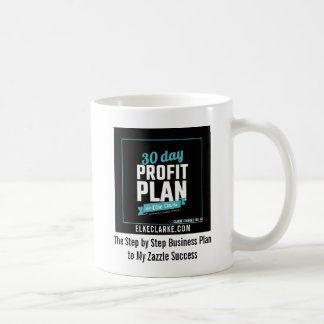 30 Day Profit Plan Advanced Zazzle Course Success Coffee Mug