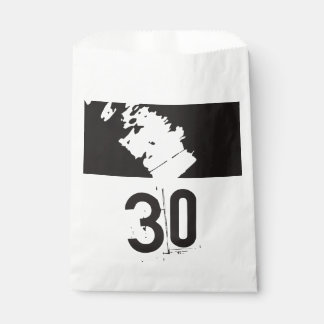 30 for a 30th Birthday Party Favour Bag