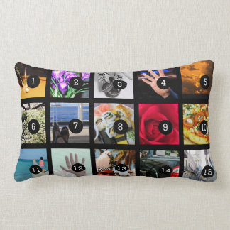 30 images album with your photos easy step by step lumbar pillow