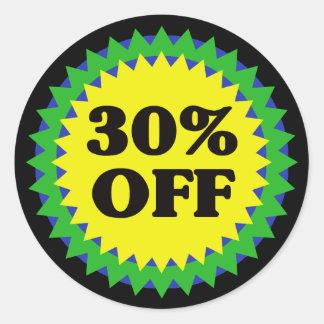 30% OFF RETAIL SALE Sticker