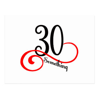 30 Something Postcard
